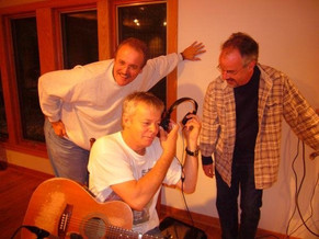 Recording/producing with Tommy Emmanuel and John McClellan