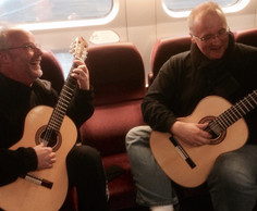 Rehearsing on the high-speed rail between Paris and Bordeaux