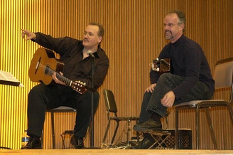 Performing for the 2006 Guitar Foundation of America Conference in Oberlin, OH