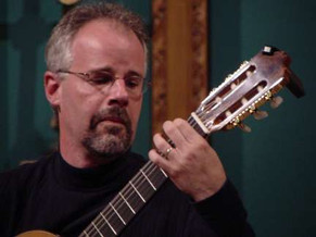 Performing for the Springfield (IL) Guitar Society in 2008