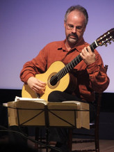 Performing for the Dallas Guitar Society
