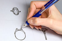 Diseño personalizado para anillo de compromiso