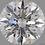 Thumbnail: CORTE REDONDO BRILLANTE, Diamante lab 0.5ct, F, VS1, corte ideal