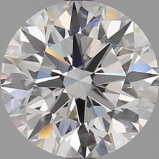 CORTE REDONDO BRILLANTE, Diamante lab, 3.02ct, E, VS1, corte ideal