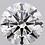 Thumbnail: CORTE REDONDO BRILLANTE, Diamante lab 1ct, G, VS1, corte excelente