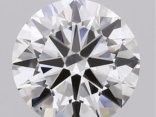 CORTE REDONDO BRILLANTE, Diamante lab 1ct, G, VS1, corte excelente