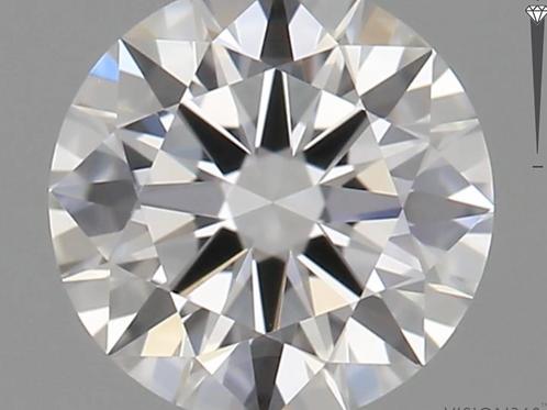 CORTE REDONDO BRILLANTE, Diamante lab 0.6ct, E, VS1, corte ideal