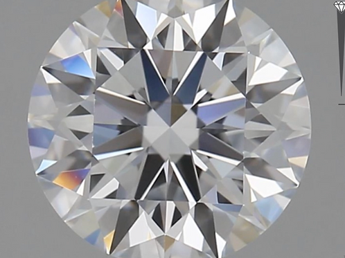 CORTE REDONDO BRILLANTE, Diamante lab 0.9ct, D, VS1, corte ideal