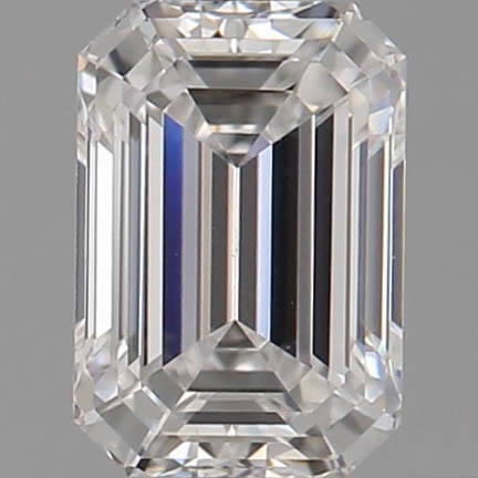 CORTE ESMERALDA, Diamante lab, 0.95ct, E, VS1