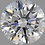Thumbnail: CORTE REDONDO BRILLANTE, Diamante lab 1.36ct, F, VVS2, corte ideal
