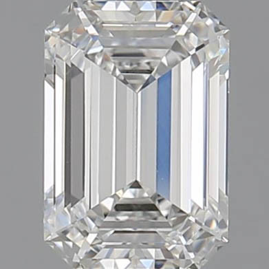 CORTE ESMERALDA, Diamante lab, 1.53ct, F, VS1