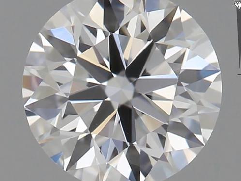 CORTE REDONDO BRILLANTE, Diamante lab 0.7ct, D, VS1, corte ideal