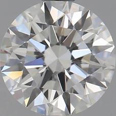 CORTE REDONDO BRILLANTE, Diamante lab, 0.51ct, F, VS1, corte ideal