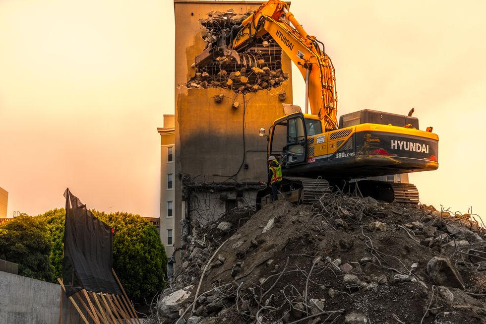 San Francisco Demolition