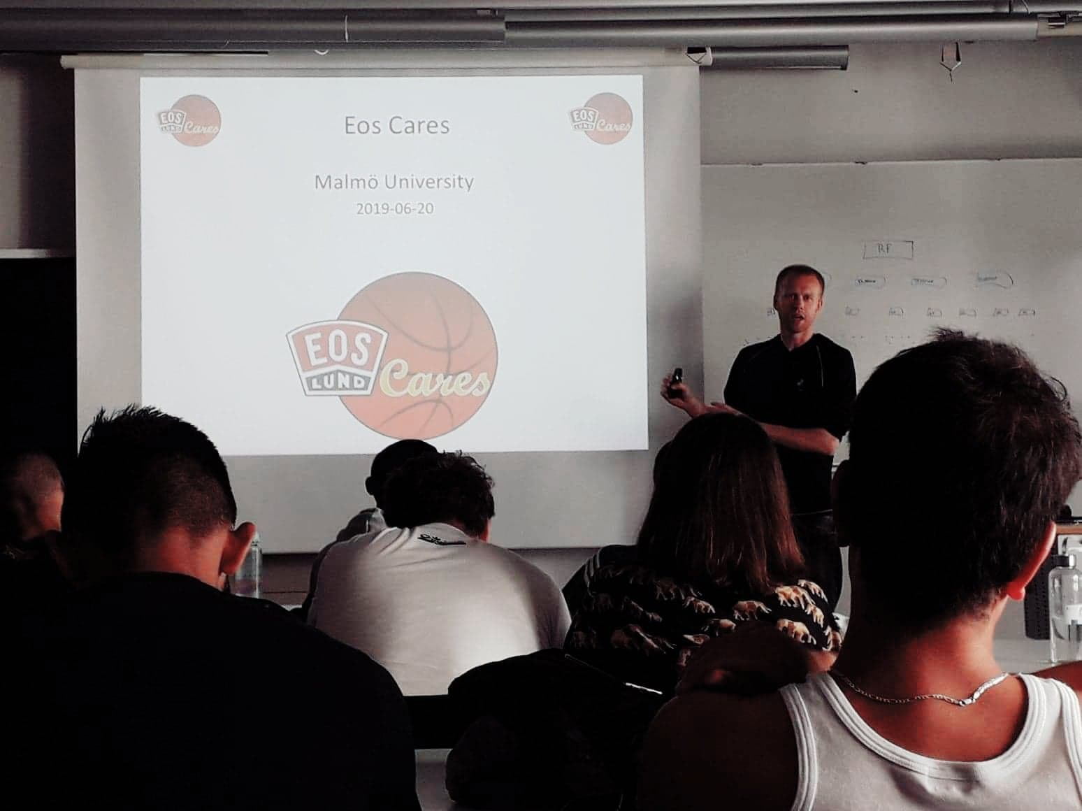 Axel talked about how Eos Cares started and grew