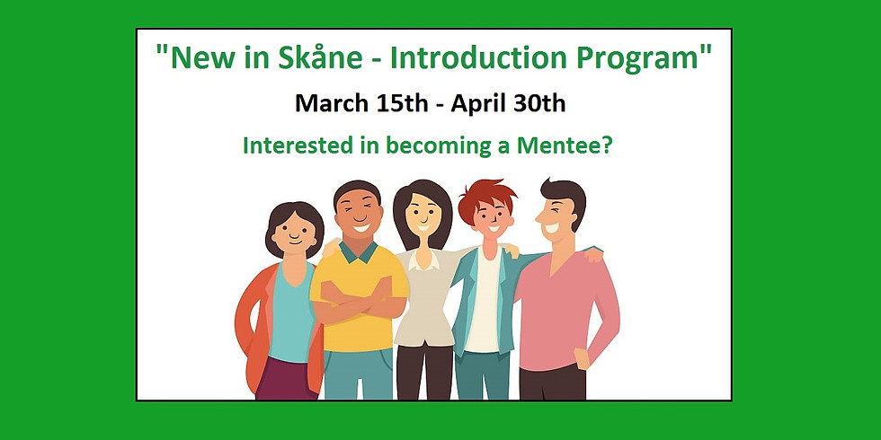 New in Skåne - Introduction Program (Mentees' application)