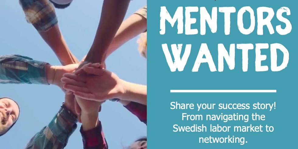 Mentor Wanted!! - Welcome to Lund Mentorship sessions