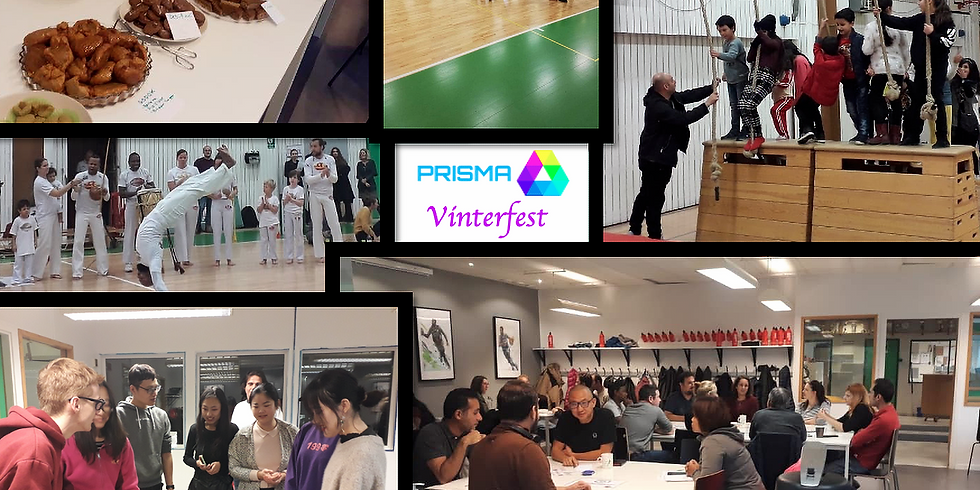 Prisma Vinterfest Språkcafé 13-15