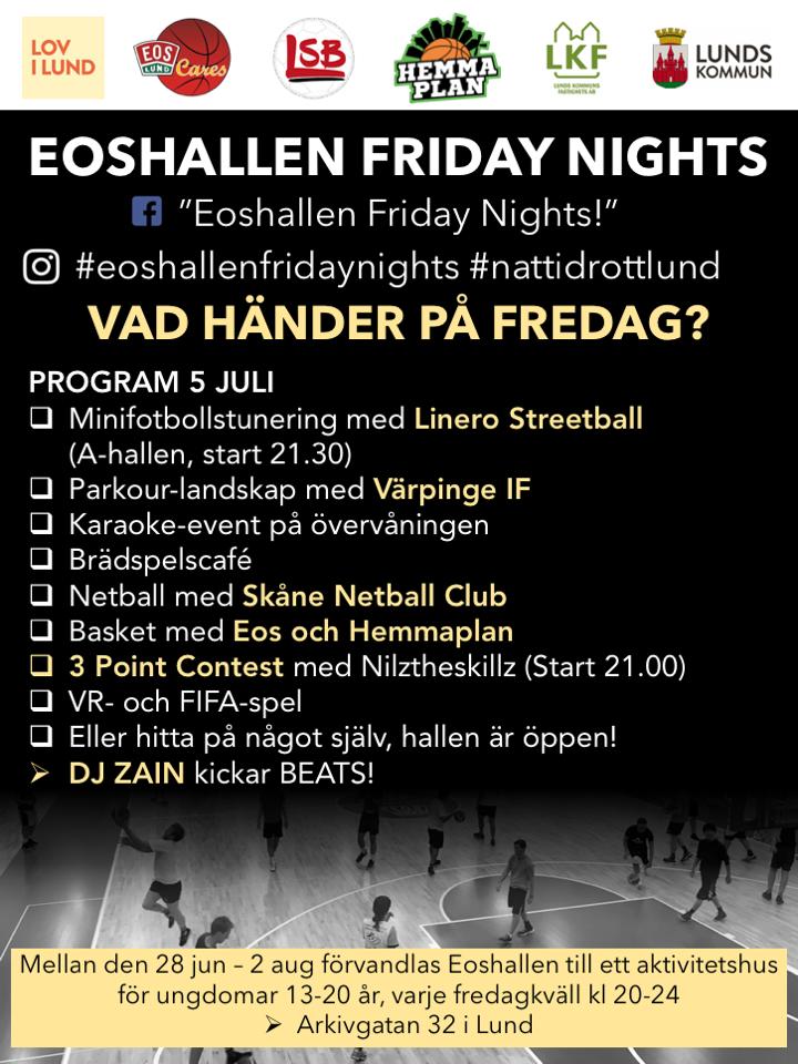 Eoshallen Friday Nights vol.2