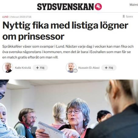 Sydsvenskan visits Eos Language Café!