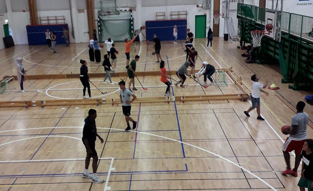 """Eoshallen Friday Nights"" hosts all kinds of sports & activities"