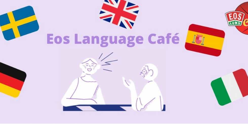 Language Café - Face-to-face (French & English)