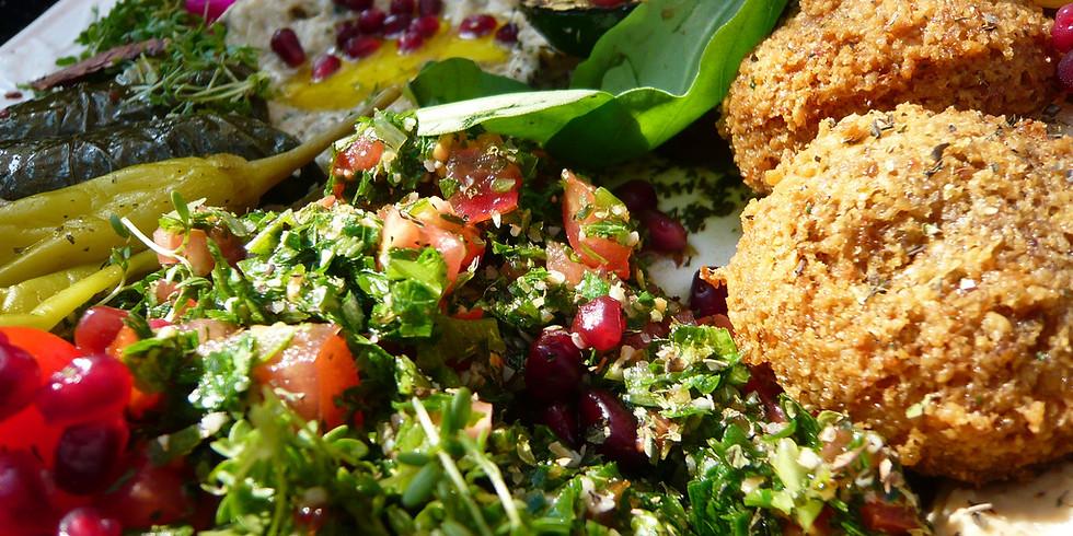 Cook-along 3/3 Falafel, tabouleh and dips!