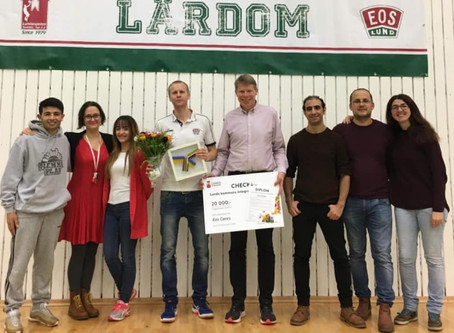 Eos Cares wins the 2019 integration prize in Lund's Kommun