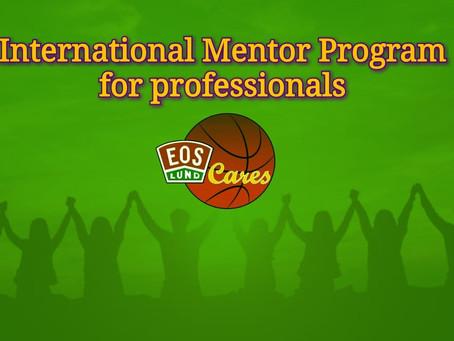 """International Mentor Program"" getting launched in September"