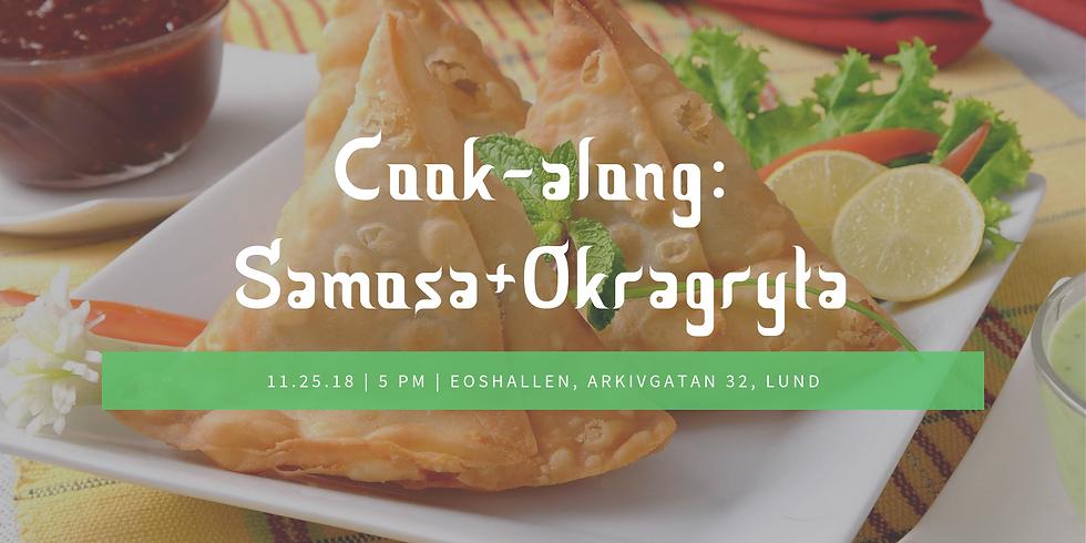 Cook-along på Svenska 25/11 Samosa & Okragryta med ris