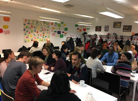 Eos Language Café re-starts - and meet your local politicians!