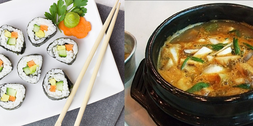 Cook-along 4/11 Korean Theme lakto-ovo-vegetarian