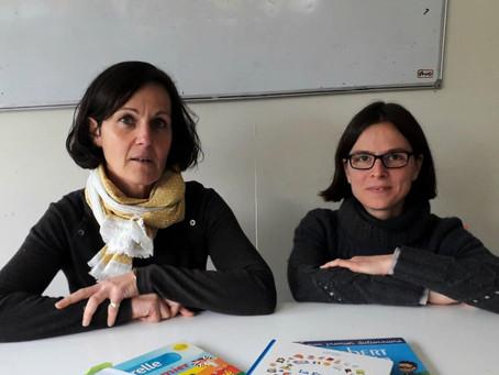 "Anicée Guglielmi & Alexandra Javier: ""We wanted to create a community where people meet and shar"