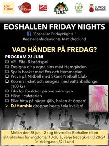 The program for EFN debut