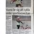Eos Cares och Röda Korsets cykellektioner uppmärksammas i Skånska Dagbladet