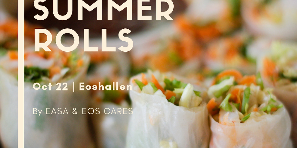 (Students only) Study Break Fulled with VEGAN Summer Rolls