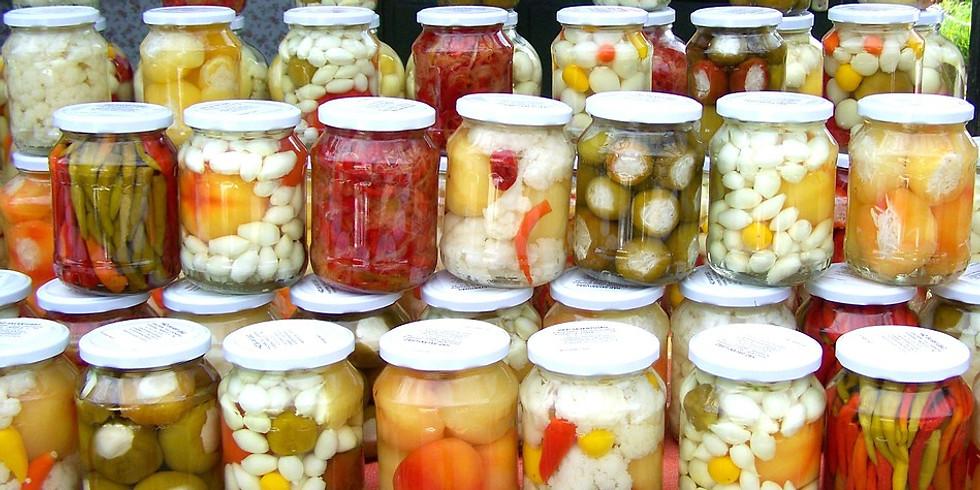 (Students ONLY!)Vegetables fermentation workshop