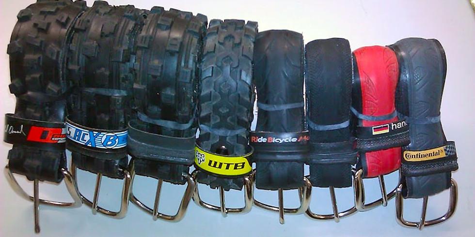 Upcycling Workshop - Make good use of old bike tyres!