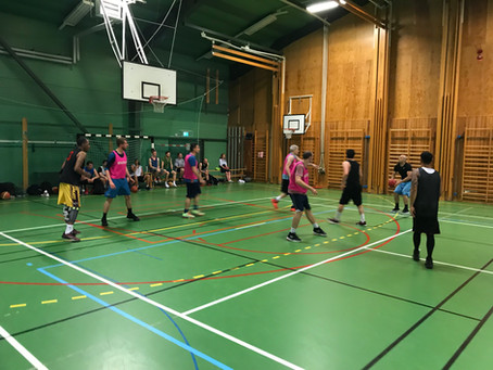 Lund Basketball Challenge survived pipe explosion - 15 teams competed in Vikingahallen!