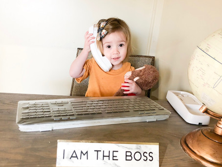 How to be an entrepreneur: Written by a toddler