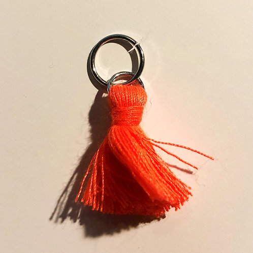 Strikkemarkør orange