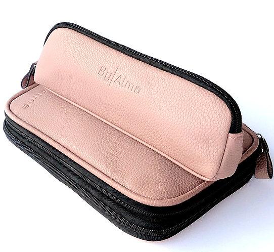 Strikkemappe byAlma pink