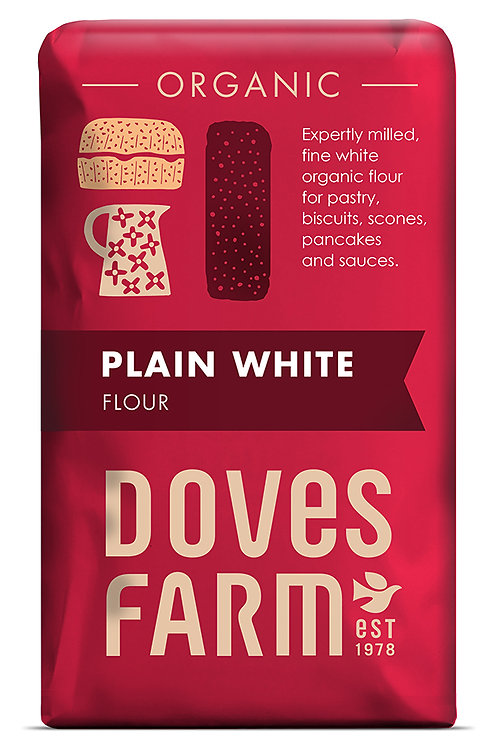 Doves Farm Plain White Flour Organic