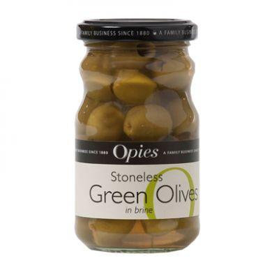 Opies Stoneless Green Olives