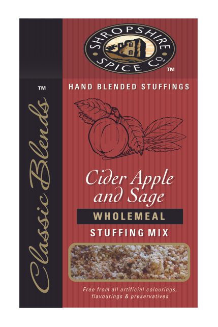 Shropshire Spice Co. Cider Apple & English Sage Wholemeal Stuffing Mix