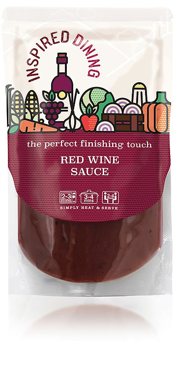 Inspired Dining Red Wine Sauce