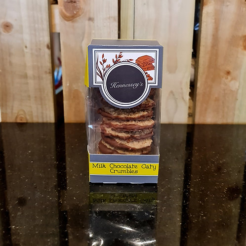 Hennessey's Chocolate Crumbly Oat Biscuits