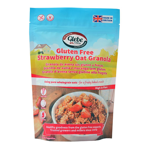 Glebe Farm Strawberry Oat Granola