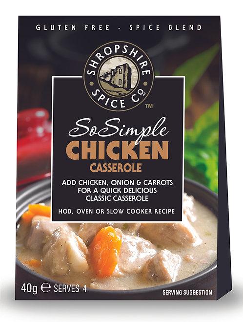 Shropshire Spice Co. Chicken Casserole (G/F) Spice Blend