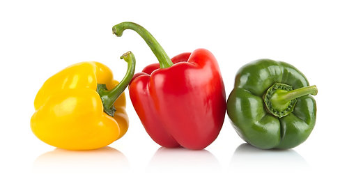 Mixed Peppers (Green, Yellow, Red)